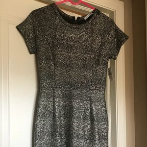 Black & gold cocktail dress - NWT